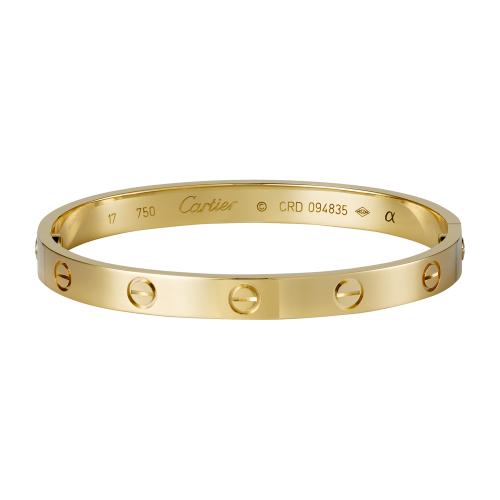 69adb433be7c replica Cartier love pulsera en oro amarillo viene con destornillador