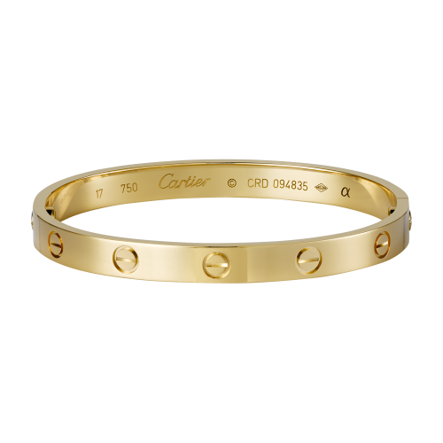 gran selección de 1d139 80248 replica Cartier love pulsera en oro amarillo viene con ...