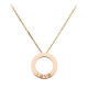 Top quality replica Cartier LOVE necklace with rose gold pendant