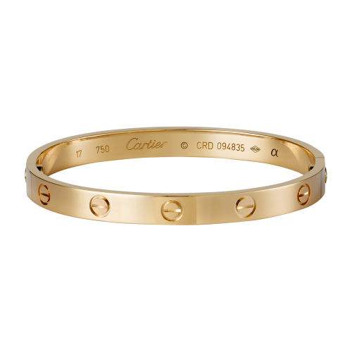 Fake Cartier LOVE bracelet rose gold with screwdriver for women and men 4889789dc