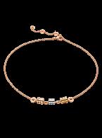 Bvlgari B.ZERO1 necklace 3-gold 3 ring pendant CL857395 replica