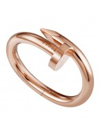 cartier juste un clou plated real 18k pink gold bracelet large models replica