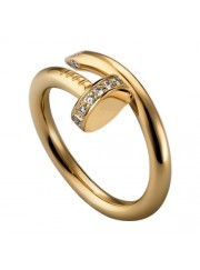 cartier juste un clou ring yellow gold diamond B4216900 replica