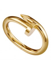 cartier juste un clou plated real 18k yellow gold bracelet large models replica