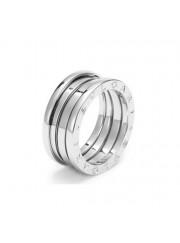 Bvlgari B.ZERO1 ring white gold 3 band ring AN191024 replica