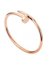 cartier juste un clou plated real 18k pink gold bracelet B6037717 replica