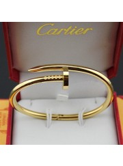 cartier juste un clou plated real 18k yellow gold bracelet B6037817 replica