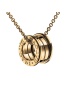 Bvlgari B.ZERO1 necklace yellow gold 4 band pendant CL857831 replica
