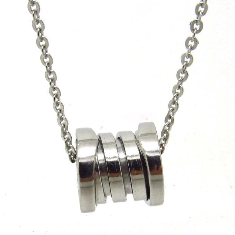 Bulgari bzero1 pendant in 18kt white gold with chain cheap outlet aloadofball Gallery