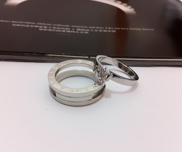 bvlgari bzero1 wedding band ring in 18kt white gold with pave d cheap outlet