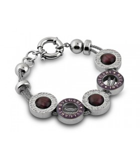 Bulgari-Bvlgari Bracelet in White Gold with Black Onyx and Black