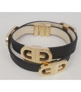 Bulgari Bulgari Pendant with Chain in 18kt White Gold with Mothe