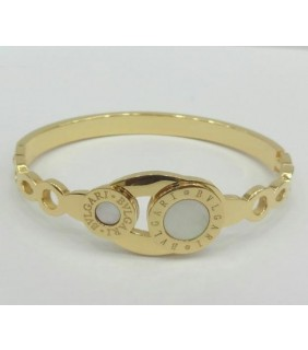 Bulgari Bvlgari Bracelet in Yellow Gold with Mother of Pearl