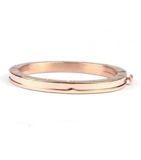 Bulgari B.ZERO1 Pendant in 18kt Pink Gold with Chain