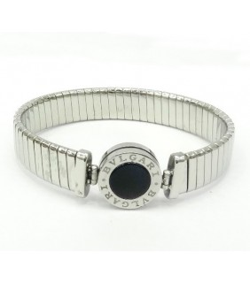 Bulgari-Bvlgari Necklace in 18kt White Gold with Black Onyx and