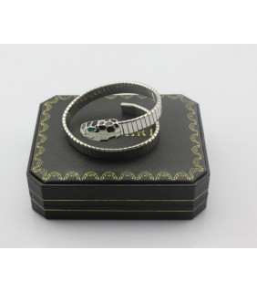 Bulgari SERPENTI Bracelet in Steel with Color Onyx