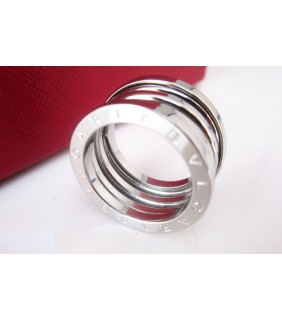 bvlgari bzero1 4band ring in 18kt white gold