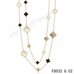 van cleef alhambra necklace sale for you