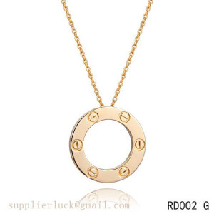Cheap Cartier love necklace with gold