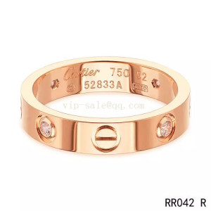 new cartier love ring in rose gold