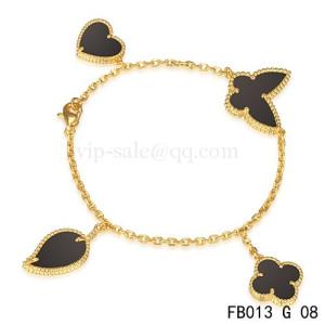 van cleef & arpels luck bracelet replica
