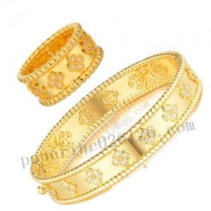VCA prelee clover bracelet and ring