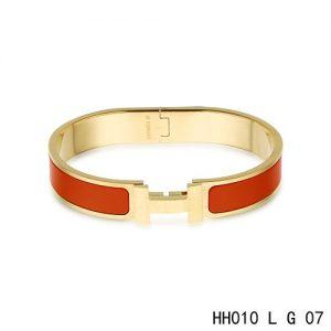 fake Hermes H Bracelet