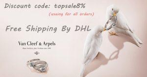 Useing discount code to buy van cleef & arpels jewelry replica