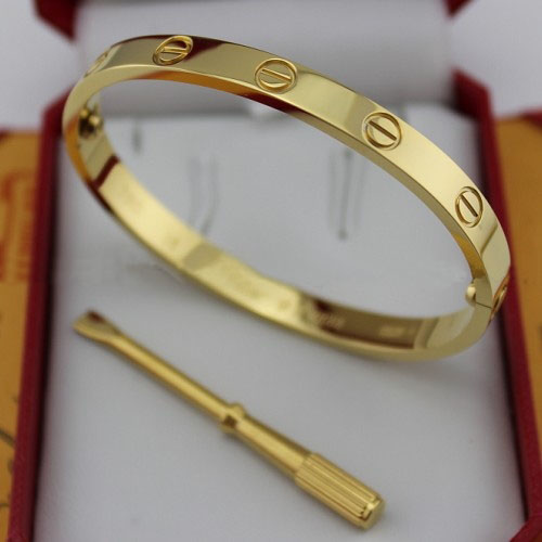Replica Cartier Love Bracelet Yellow Gold with Screwdriver