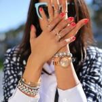 Outstanding unique style bracelet mash