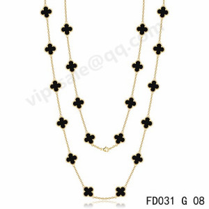 van cleef alhambra necklace replica