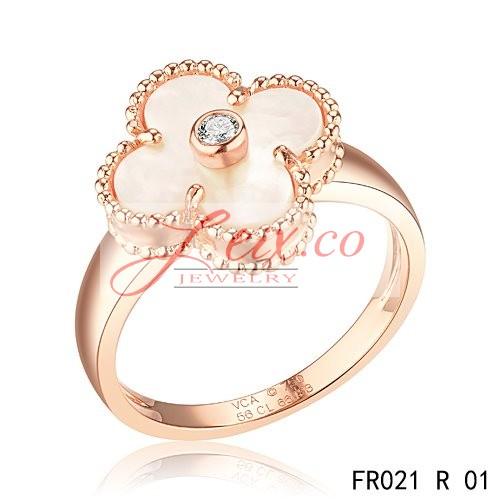 Discount Van Cleef And Arpels Vintage Alhambra Ring