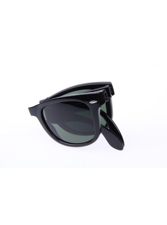 Ray Ban Folding Wayfarer RB4105 50-20 Sunglasses in Black