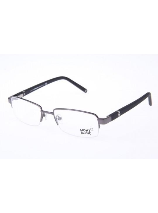 Mont Blanc MB385 Eyeglasses In Gunmetal