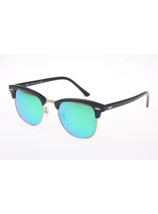 Ray Ban RB3016 Sunglasses In Black Green Lens 901 19