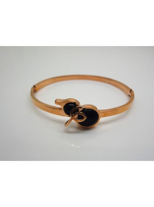 Cartier Cucurbit Bracelet in 18kt Pink Gold with Black Onyx