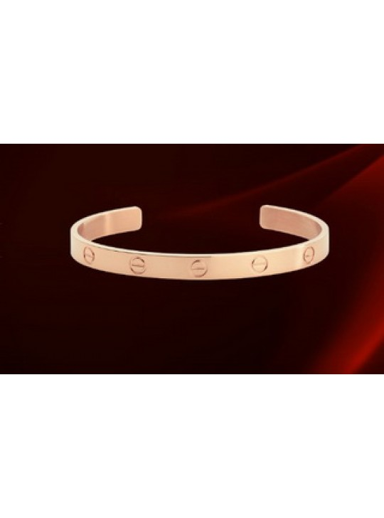 Cartier Cuff LOVE Bracelet in 18kt Pink Gold