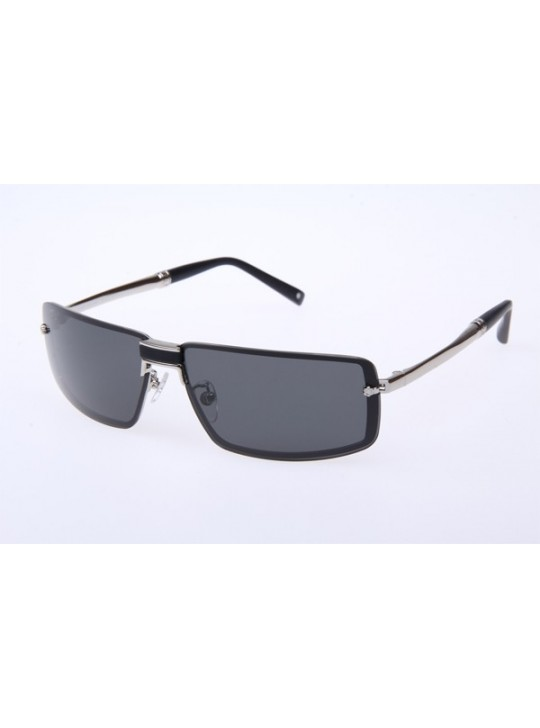 MontBlanc MB219S Sunglasses in Silver