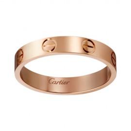 Cartier Love Wedding Band Replica 18k Pink Gold Love Ring