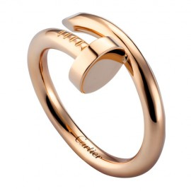 Cartier Juste Un Clou Ring Fake Plated Real Pink Gold