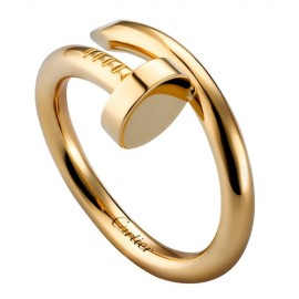 Cartier Juste Un Clou Ring Copy Plated Real Yellow Gold