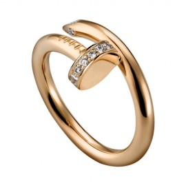 Cartier Juste Un Clou Ring Fake 18k Pink Gold Diamond