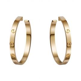 Cartier Love Yellow Gold Screw Earrings
