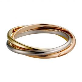 Trinity De Cartier 3-Gold Ring Fake