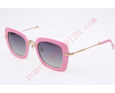 2016 Cheap Miu Miu SMU07O Sunglasses, Pink White