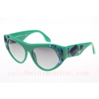 Prada VPR21QS Sunglasses In Green