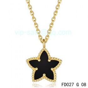 Van cleef & arpels Alhambra Maple Leaf Pendant/Yellow Gold