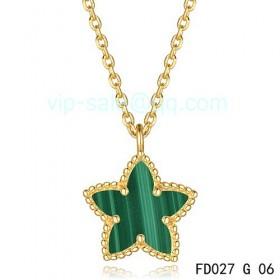 Van cleef & arpels Alhambra Maple Leaf Pendant/Yellow Gold