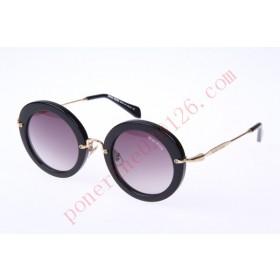 2016 Cheap Miu Miu SMU13NS Sunglasses, Black Gold
