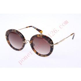 2016 Cheap Miu Miu SMU13NS Sunglasses, Dark Tortoise